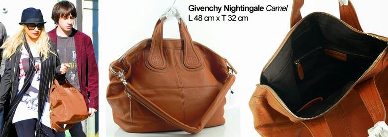 Tas Cewek Givenchy Nightingale Camel, Murah Dan Bagus
