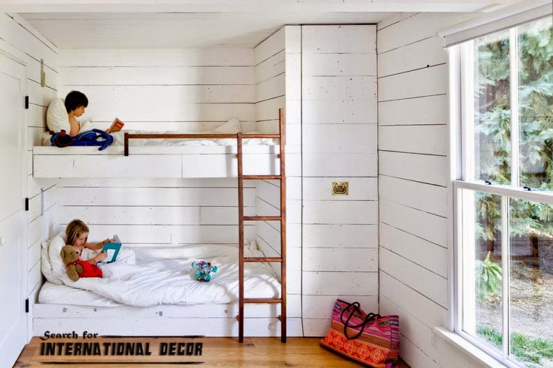 small child's room design,how to save space,classic bunk beds