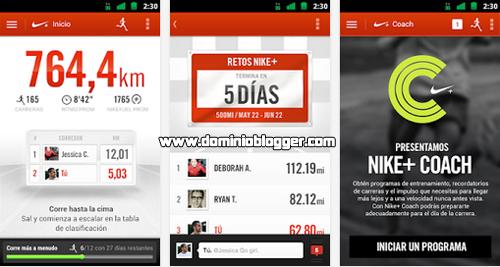 Manten tu estado fisico con Nike Running para Android