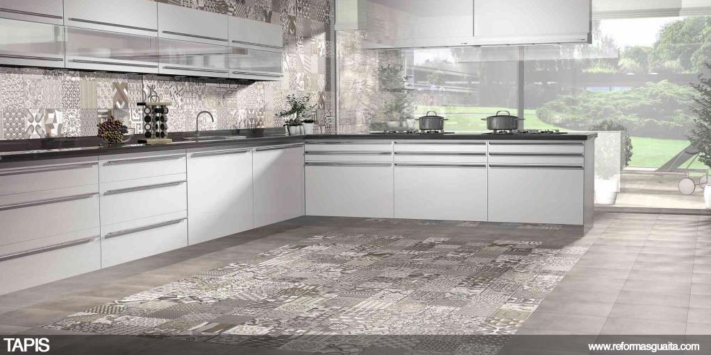 Vinilos para azulejos de cocina zaragoza for Baldosas cocina