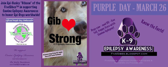 Purple Day for (K-9) Epilepsy is Coming!