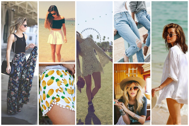 summer fashion style inspiration pinspiration