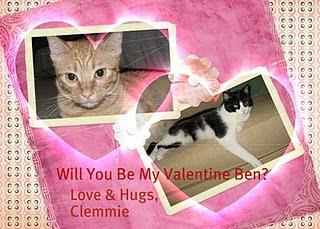 Ben's Valentine from Clemmie