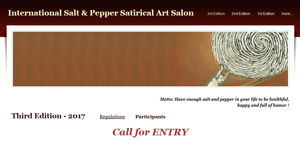 Third International Salt & Pepper Satirical Art Salon