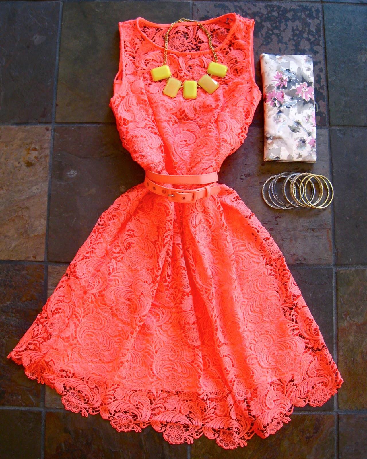 Dress me in jigsaw wedding wear for Jewelry to wear with coral dress