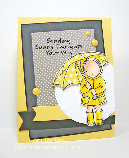 Sending Sunny Thoughts card-designed by Lori Tecler/Inking Aloud-stamps and dies from My Favorite Things