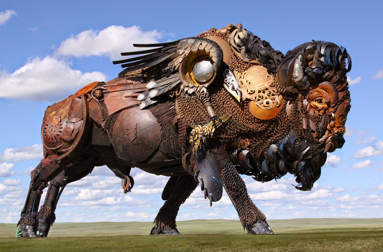 04-John-Lopez-Scrap-Iron-Animal-Sculptures-www-designstack-co