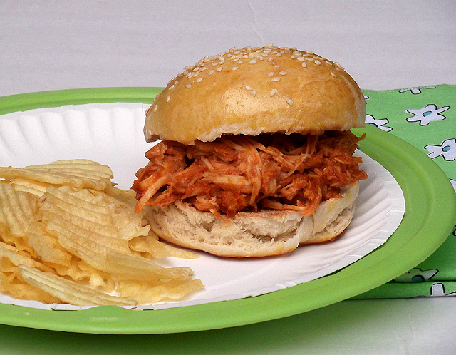 Barbecue Chicken Sandwiches from Cooking Light Magazine ...
