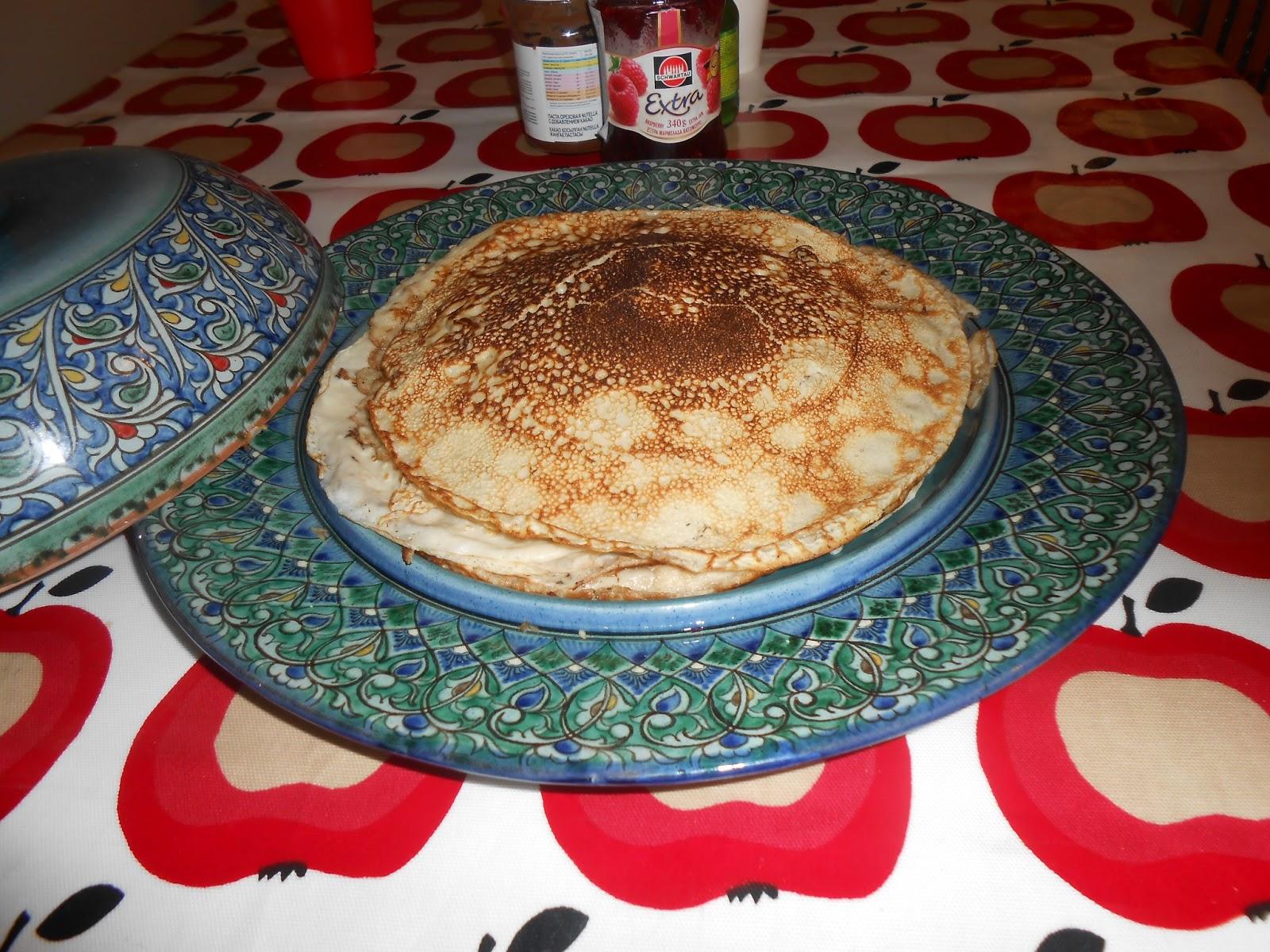 Uzbek Pancake Dish