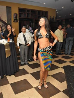 Lucianette Verhoeks Bikini Pics, Miss World Aruba Bikini Photos