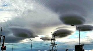 Misteri Awan UFO Hebokan Penduduk Afrika Selatan