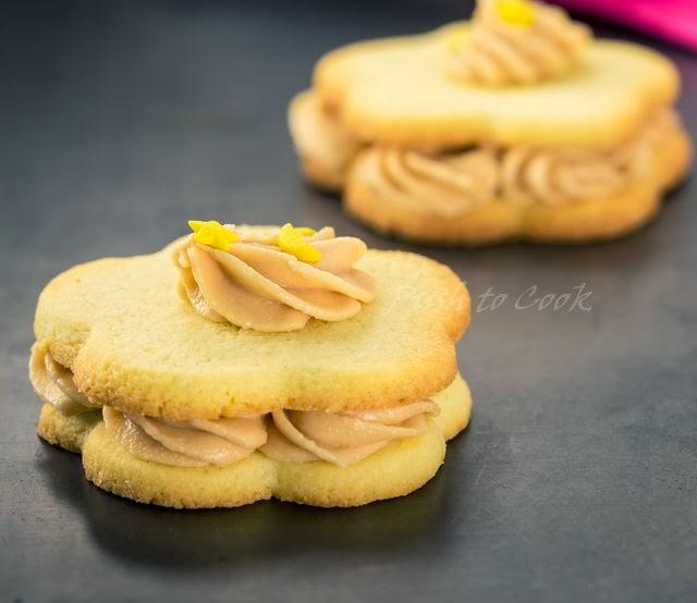 Печенье с солёной карамелью