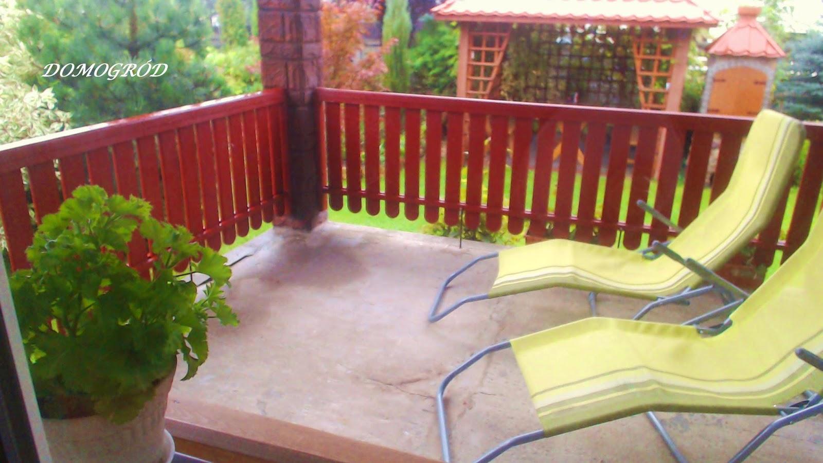 Relaksujący Ogród I Dom Jak Zrobić Balustradę Na Tarasie