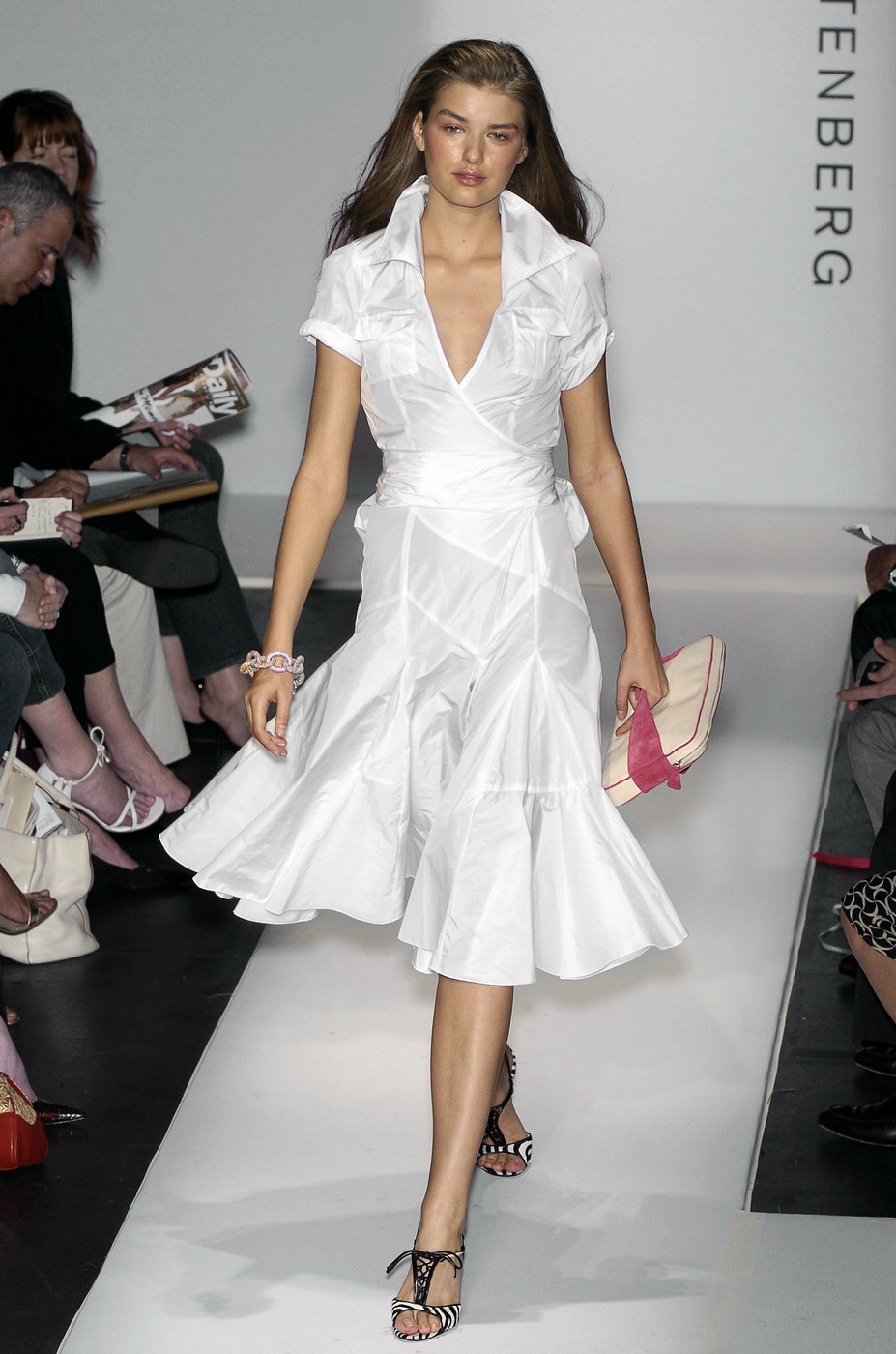 via fashioned by love | Diane von Furstenberg wrap-dress Spring/Summer 2005