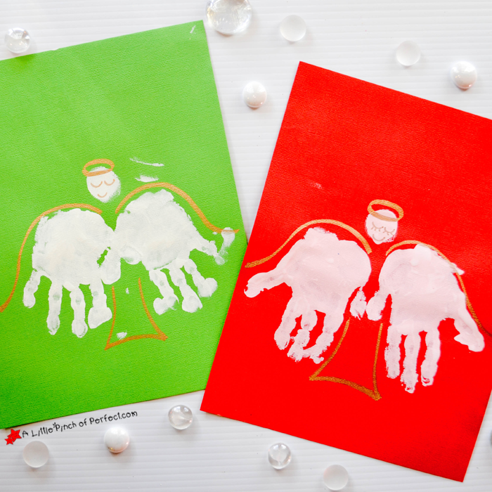 Since the holiday season is right around the corner we made angel handprints for Christmas. You could use the angels to decorate the walls or make homemade ...