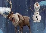 Olaf es un muñeco de nieve