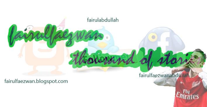 fairulfaezwan-seribu satu kisah