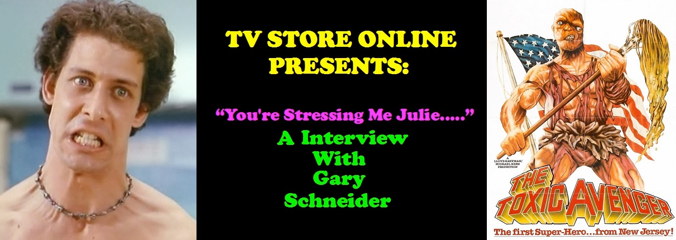 Gary Schneider from THE TOXIC AVENGER and CLASS OF NUKE'EM HIGH talks