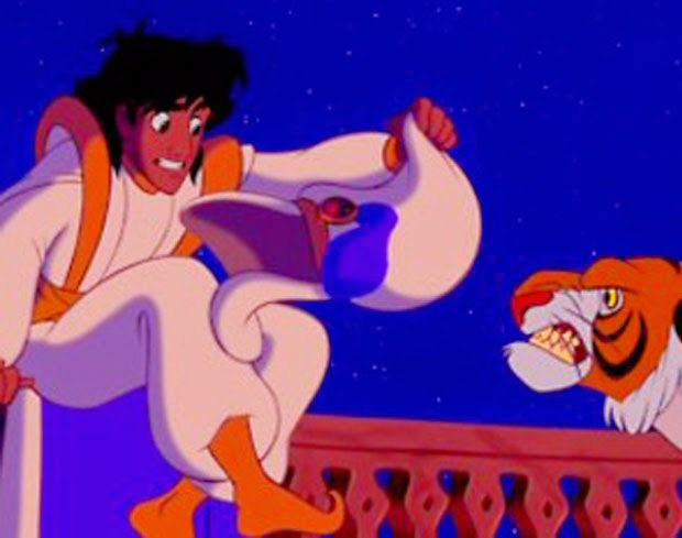 Aladdin and the Subliminal Messaging
