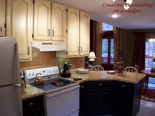 Kitchen Cabinets Light Top Dark Bottom