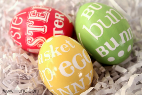 stcker art eggs easter egg idea