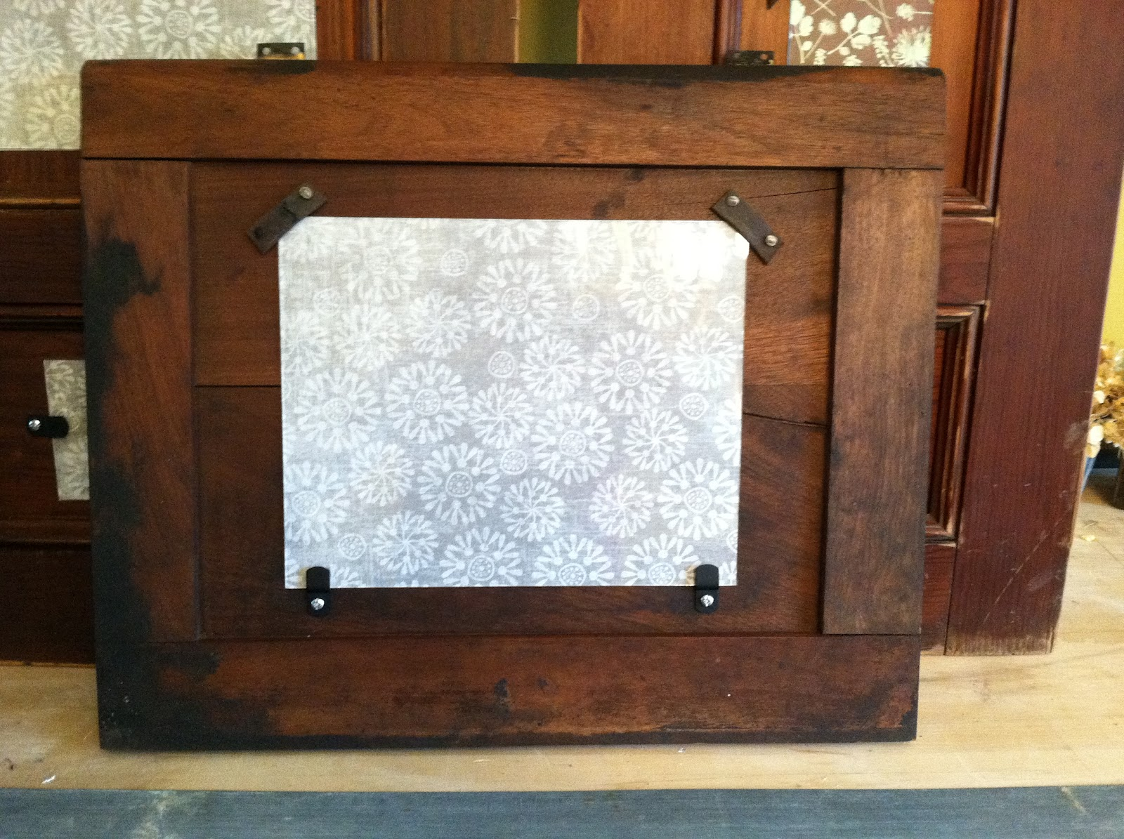 Tx Girln Ct Antique Cabinet Doors Repurposed Into Picture Frames