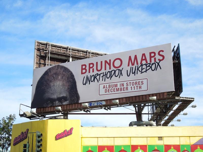 Bruno Mars Unorthodox Jukebox billboard