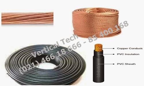 down conductor,tembaga,kabel penyalur