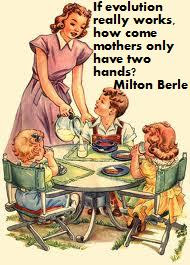 How come mothers only have two hands?