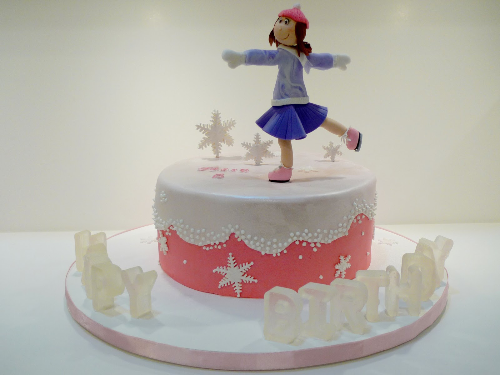 skating cake ideas