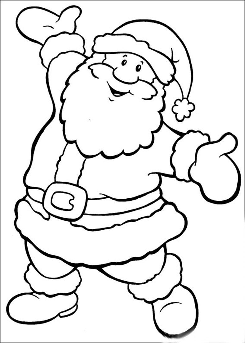 dibujos de puntos y colorear: personajes de navidad