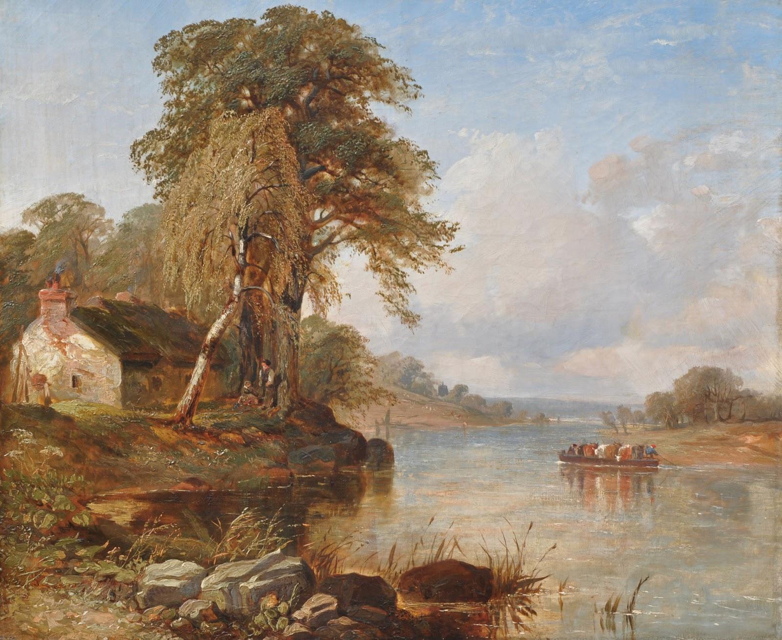 Victorian British Painting Thomas Creswick