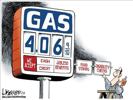 High Gas Prices Cartoons