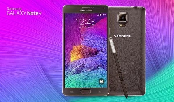 Samsung Galaxy Note 4,  Smartphone Canggih Dilengkapi S Pen