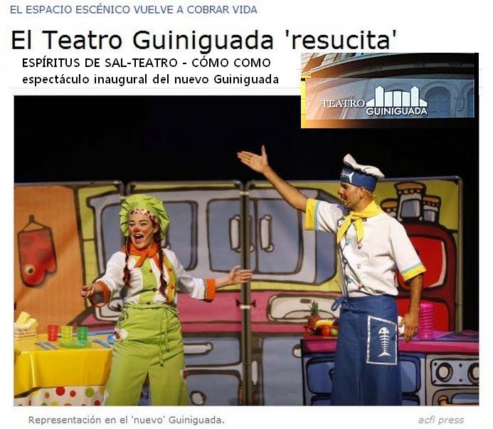 Espíritus de sal inaugura el TEATRO GUINIGUADA