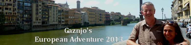 Gaznjo's Grand European Adventure 2013