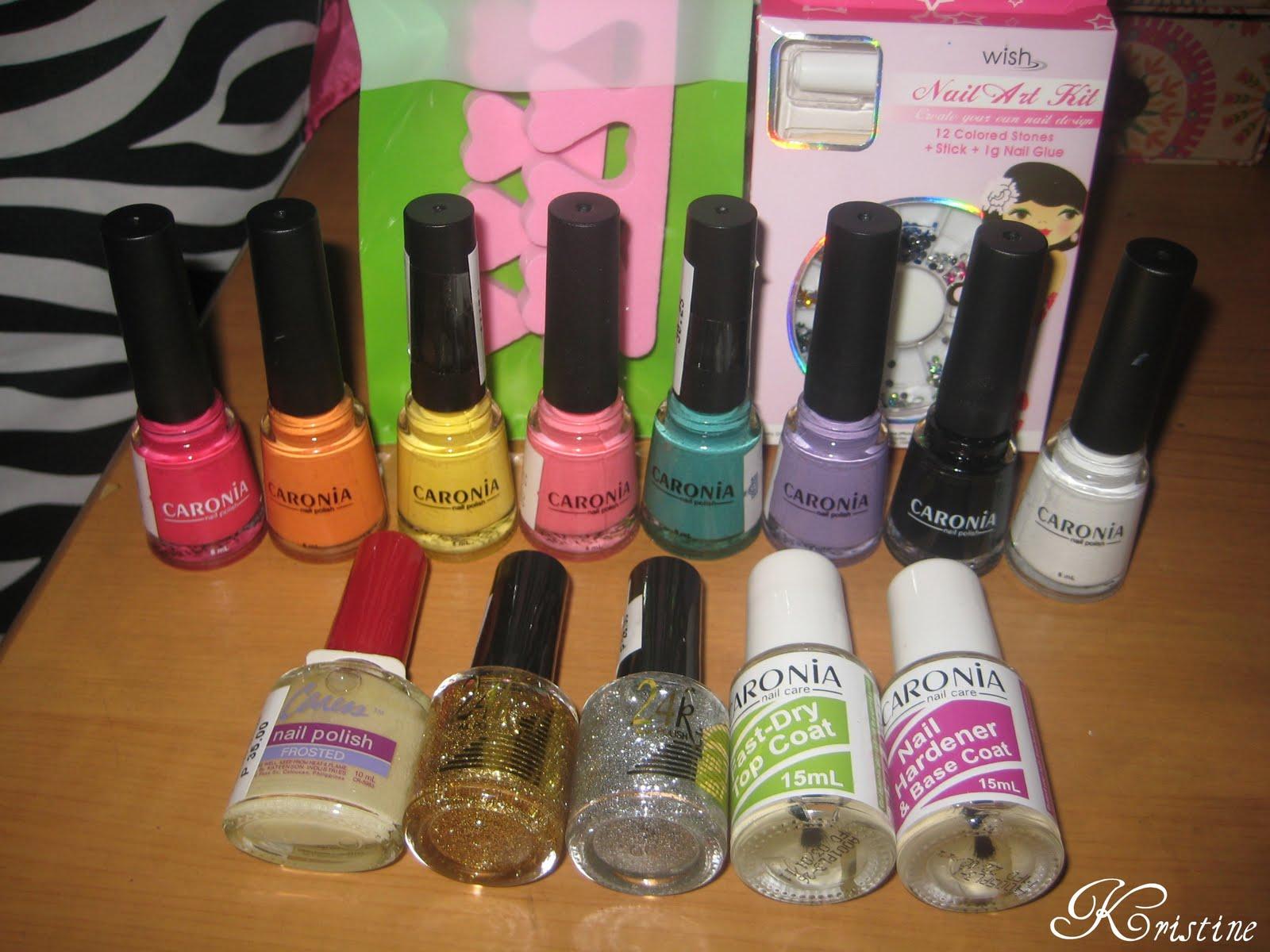 Real Asian Beauty: My first nail polish haul