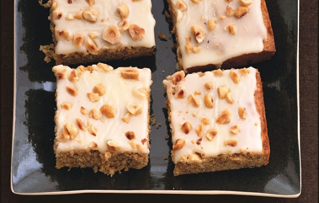 Ginger Squash Cake With White Chocolate Frosting