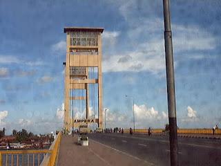 jembatan ampera tempoe doeloe