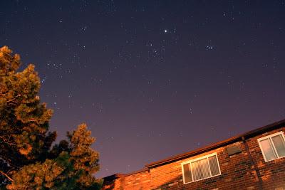night sky over ohio