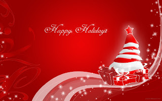 happy holiday santa claus christmas wallpaper