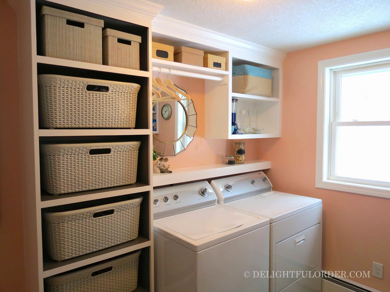 Delightful order laundry room craft room office all in Laundry room storage