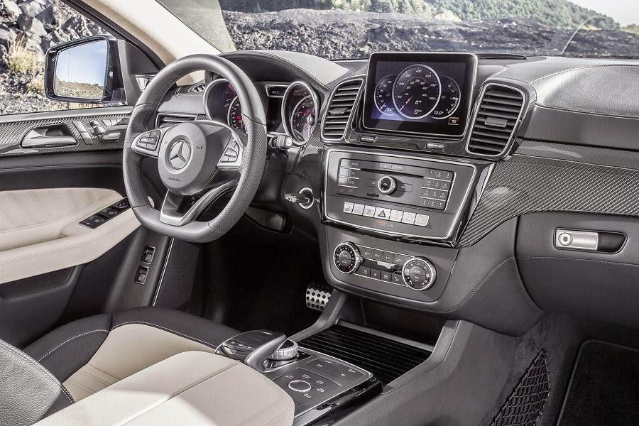Mercedes-Benz GLE 450 AMG 4Matic Coupé (2015) Interior