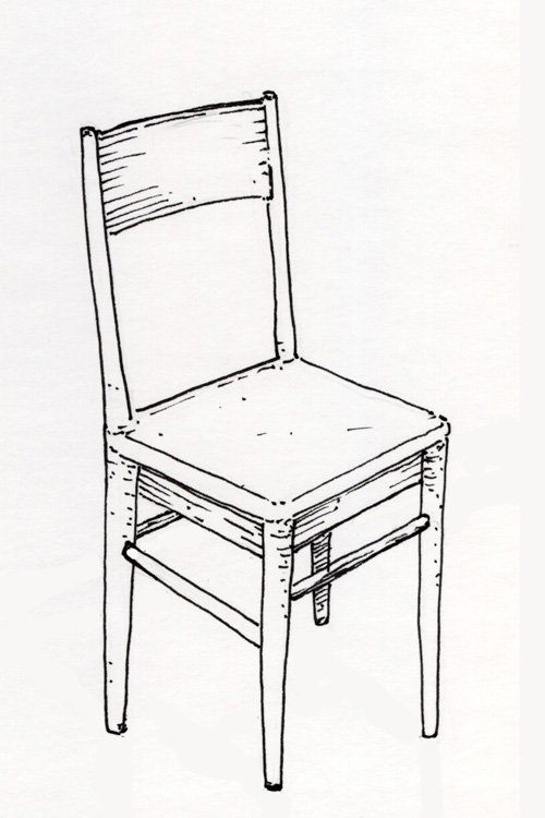 Chaise Dessin Of Les Dessins De Daniel Une Chaise A Chair