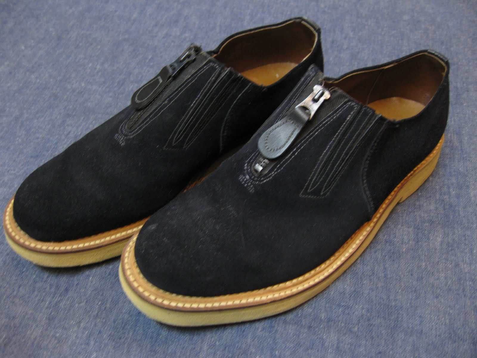 50's BLUE SUEDE SHOES               ダブル コバ               ENDICOTT JOHNSON CO.                SOLD