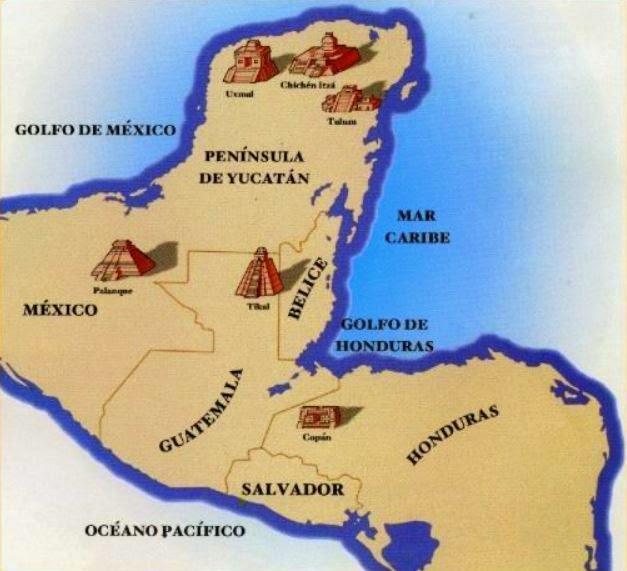 cultura maya ubicacion