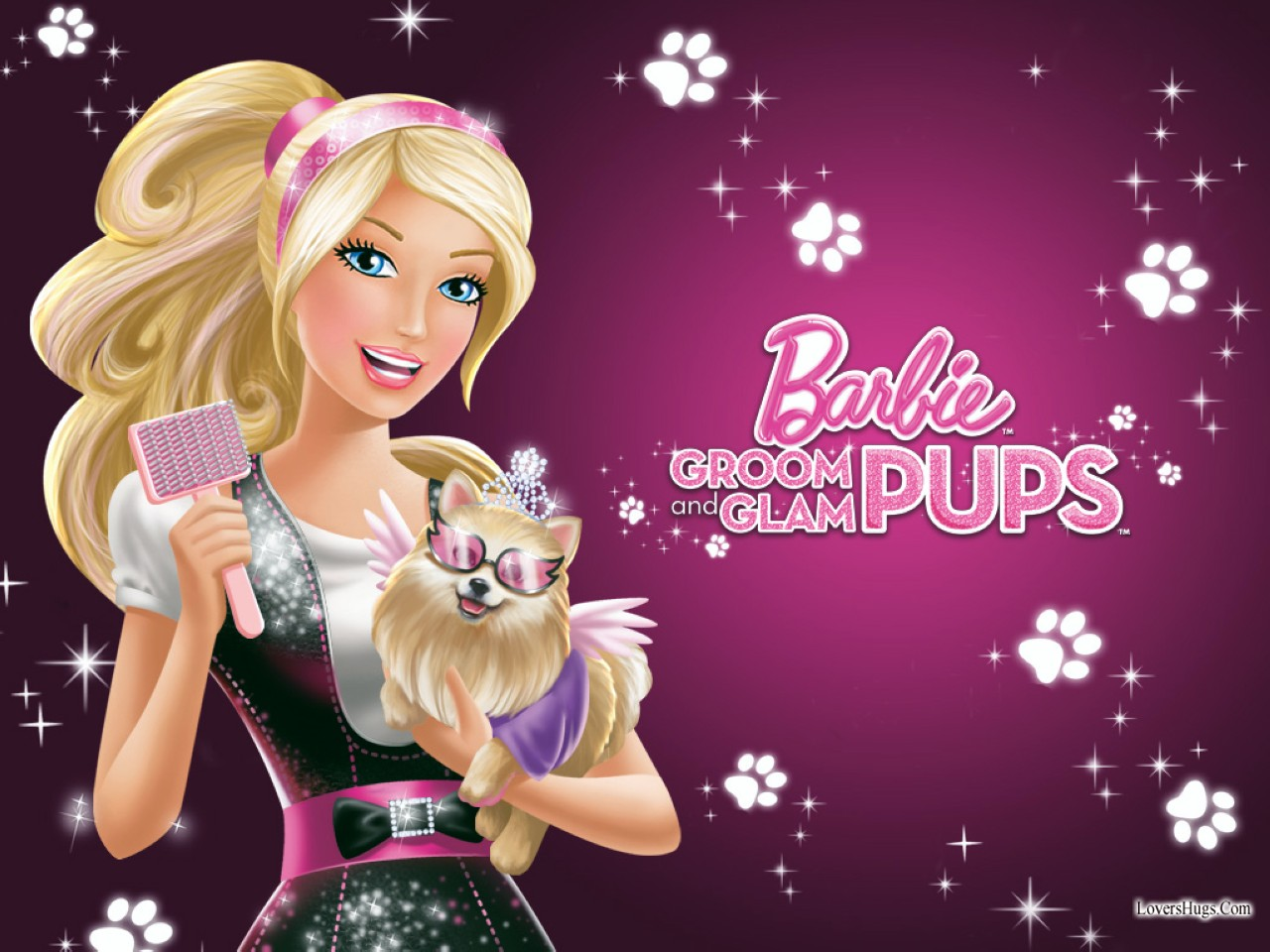 Barbie hd wallpapers wallpaper202 barbie pups widescreen wallpaper for free voltagebd Images