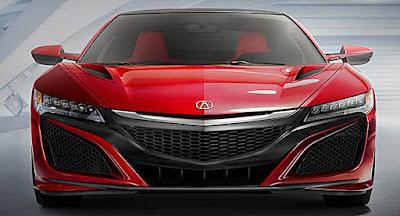 2016 Honda Acura NSX Designer