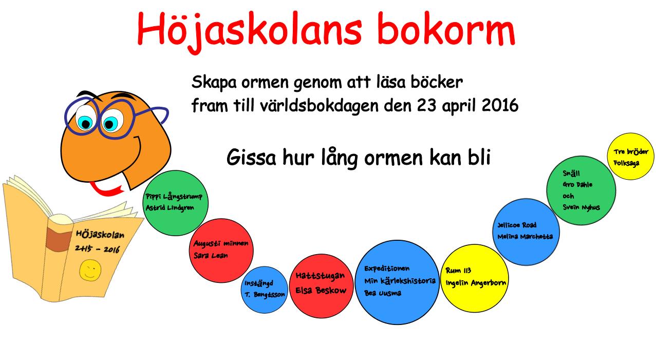 Höja läsutmaning 2015/2016