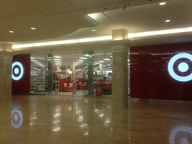 The entrance to Target in West Edmonton Mall